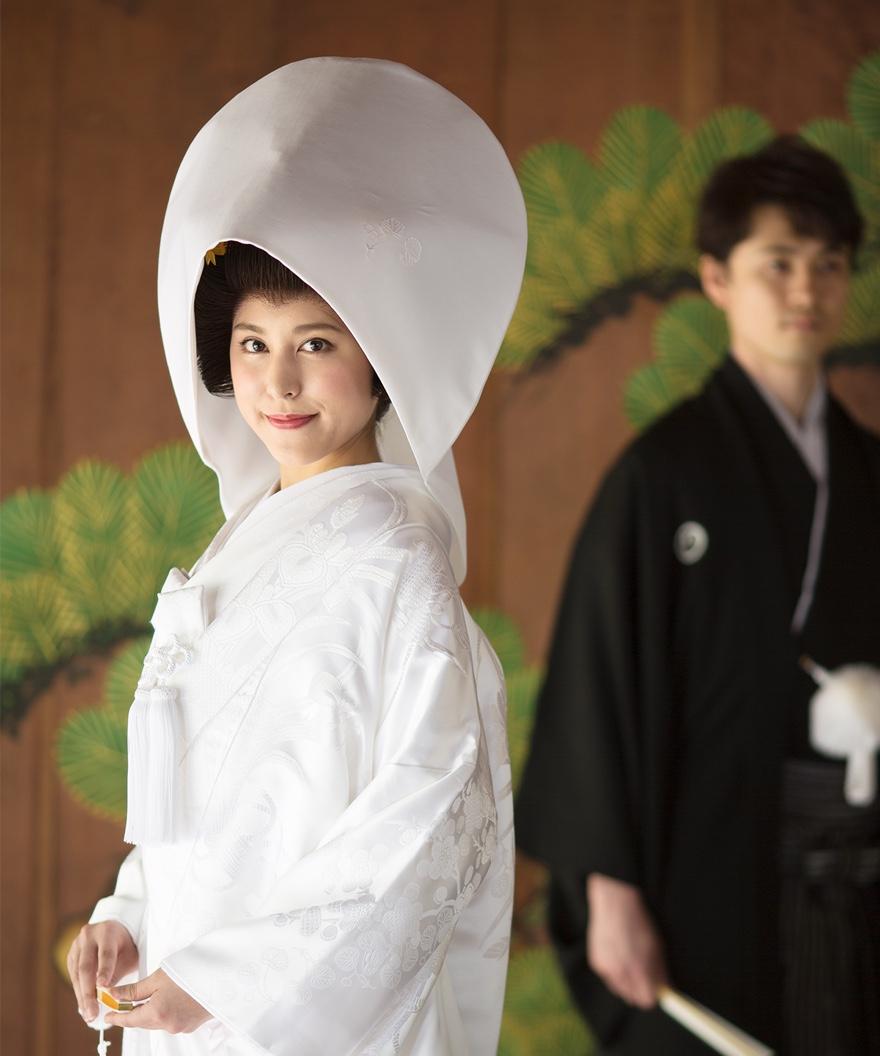 上賀茂神社 神紋入り白無垢