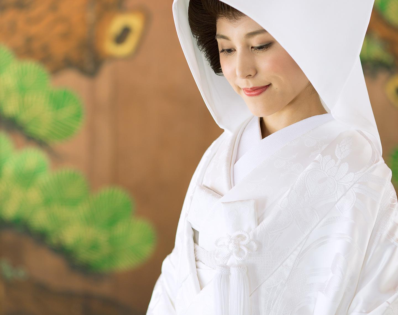 上賀茂神社神紋入り白無垢