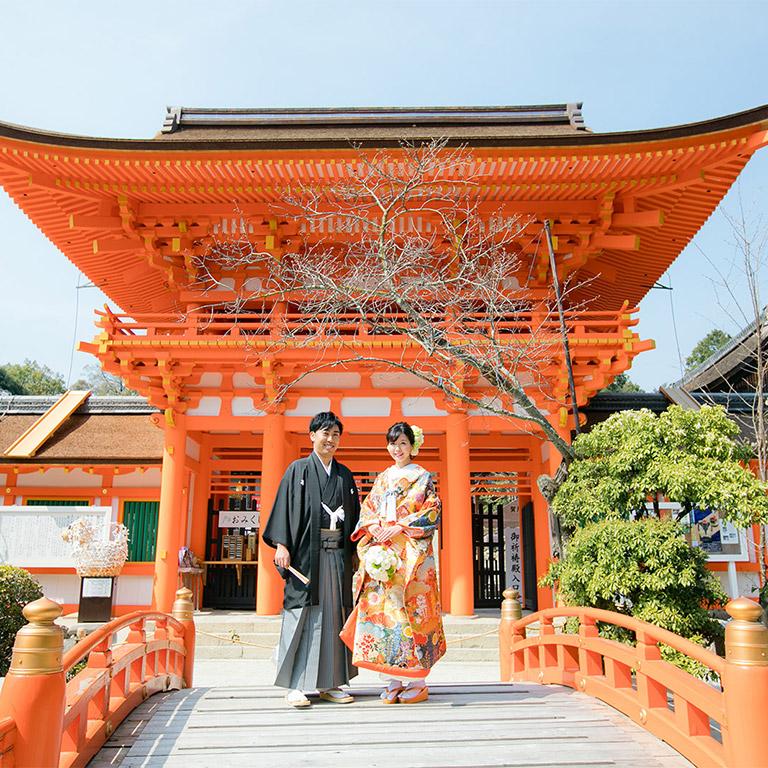 上賀茂神社-前撮り・ローケーション撮影