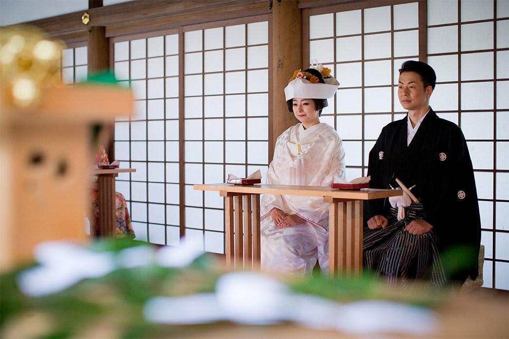 上賀茂神社 国宝 本殿・権殿での挙式