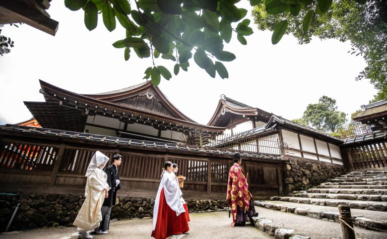 上賀茂神社 婚礼 参進の儀